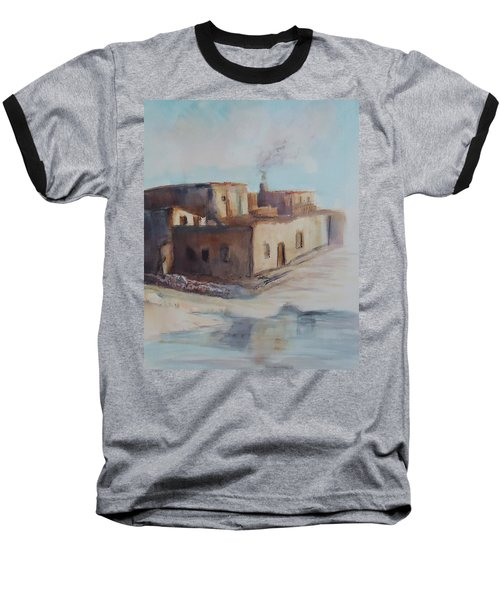 Pueblo After The Rain Baseball T-Shirt