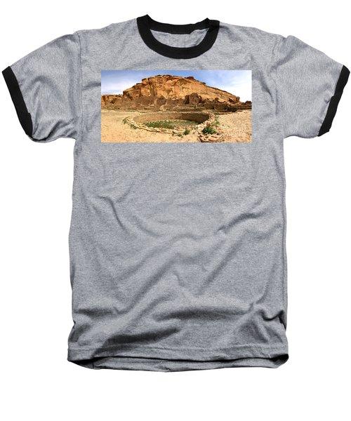 Baseball T-Shirt featuring the photograph Pueblo Bonito Kiva Ruins by Adam Jewell