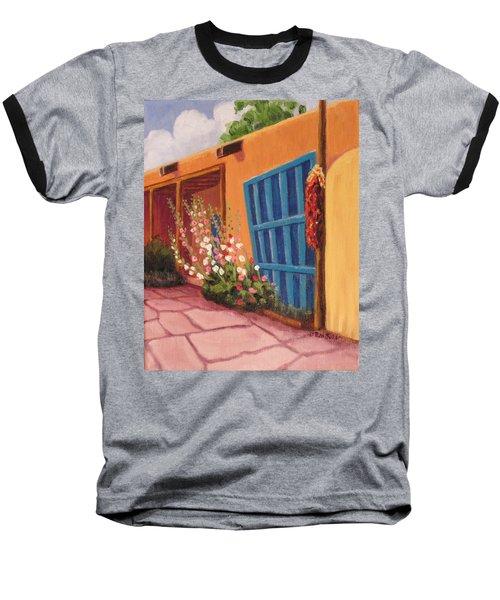 Puerta Azul En Taos Baseball T-Shirt