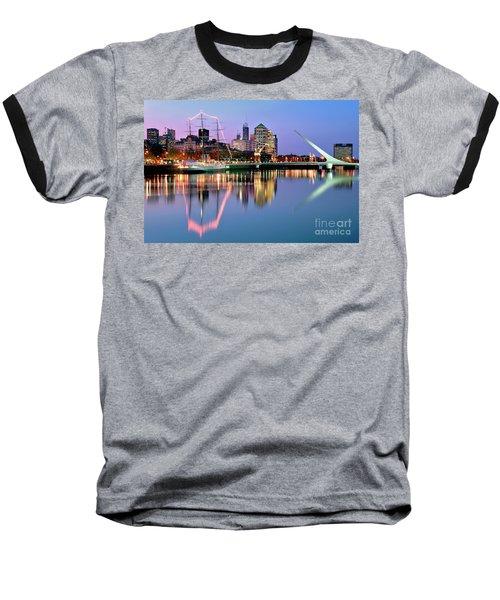 Puerto Madero I Baseball T-Shirt by Bernardo Galmarini
