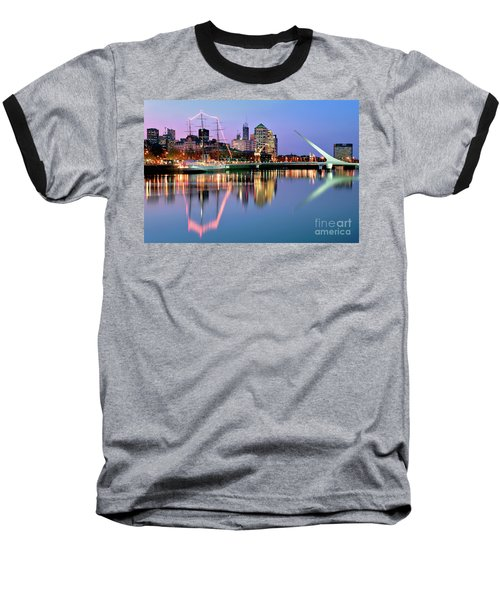 Puerto Madero I Baseball T-Shirt