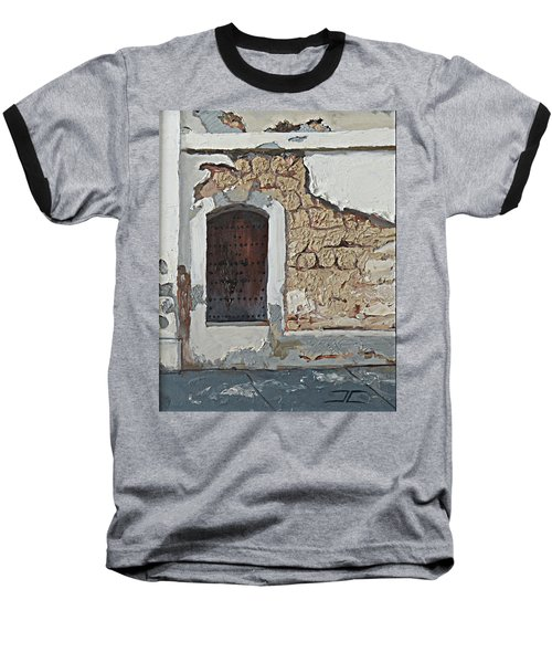 Puerto Rico Door Baseball T-Shirt