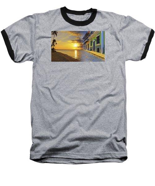 Puerto Rico Montage 1 Baseball T-Shirt
