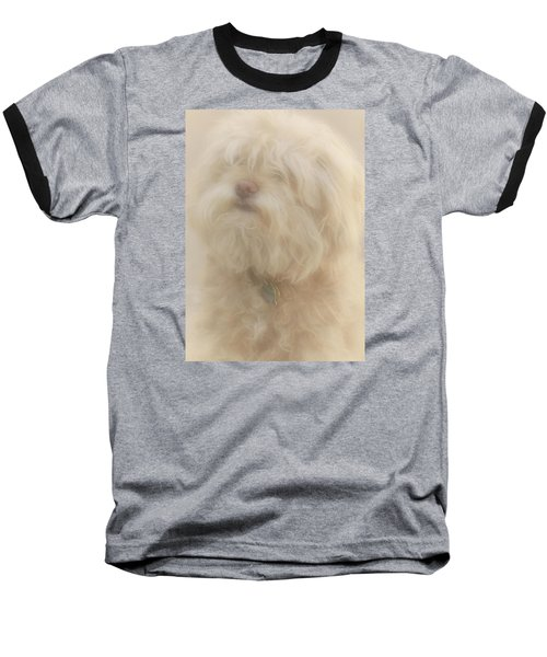 Puff Puff Baseball T-Shirt by The Art Of Marilyn Ridoutt-Greene