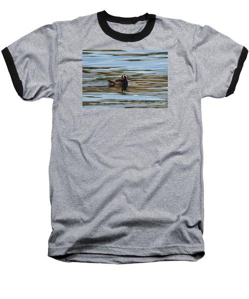 Puffin Reflected Baseball T-Shirt