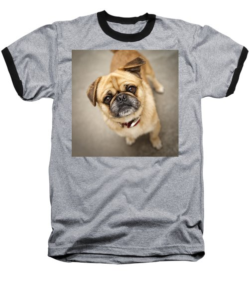 Pug Dog 2 Baseball T-Shirt
