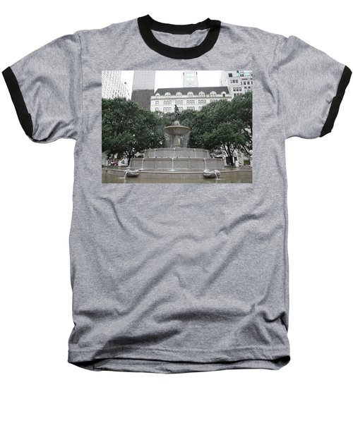 Pulitzer Fountain Baseball T-Shirt
