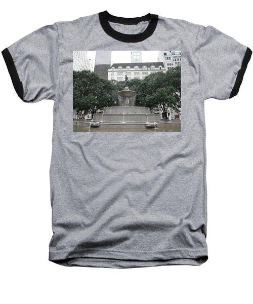 Pulitzer Fountain Baseball T-Shirt