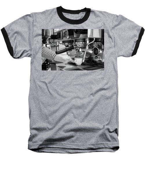Pulling The Shot Baseball T-Shirt
