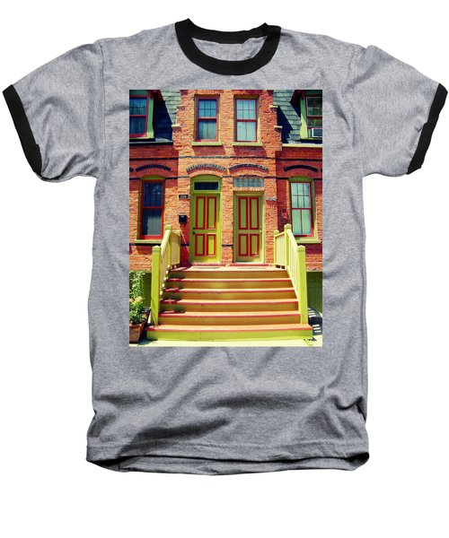 Pullman National Monument Row House Baseball T-Shirt