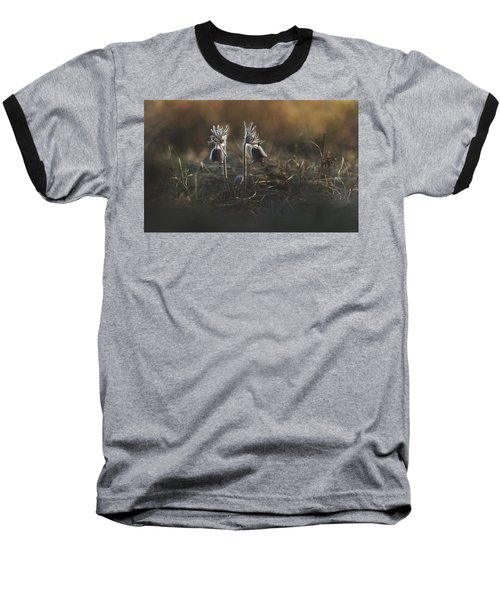 Baseball T-Shirt featuring the photograph Pulsatilla Nigricans by Davorin Mance