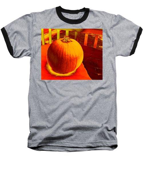 Pumpkin #4 Baseball T-Shirt