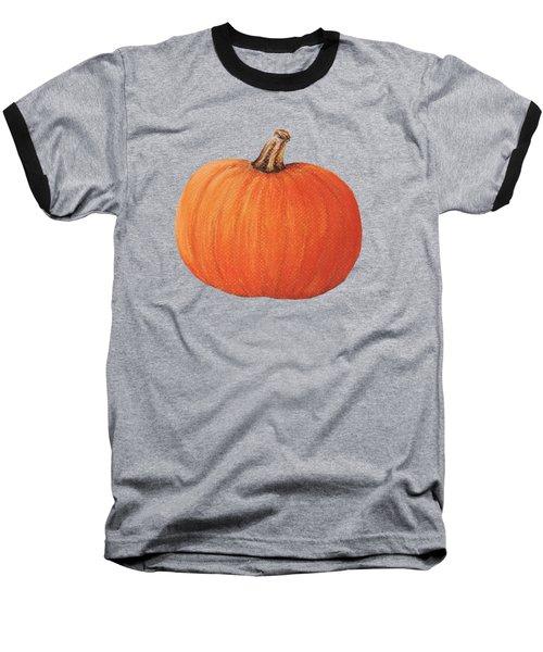 Pumpkin Baseball T-Shirt by Anastasiya Malakhova