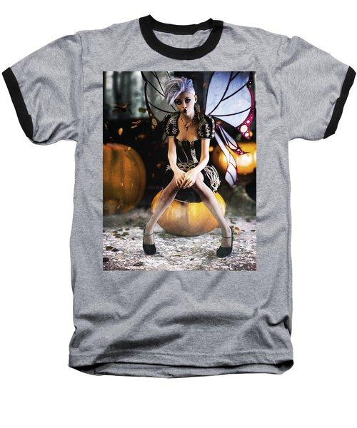 Pumpkin Fairy Baseball T-Shirt