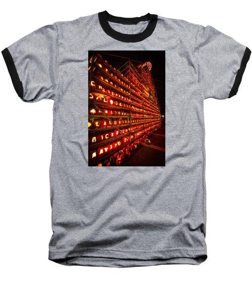 Baseball T-Shirt featuring the photograph Pumpkin Festival 2015 by Robert Clifford