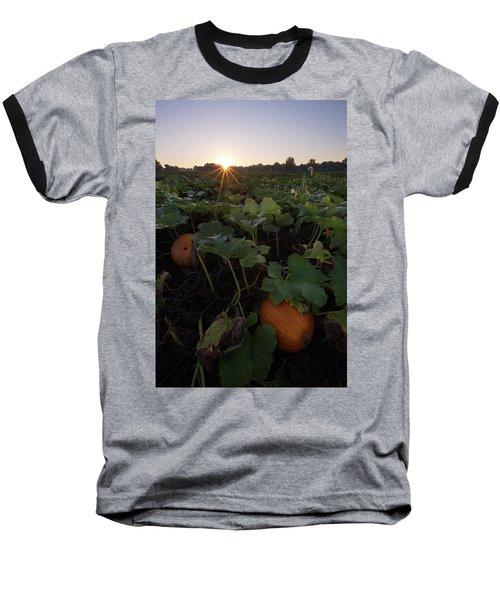 Baseball T-Shirt featuring the photograph Pumpkin Patch by Aaron J Groen