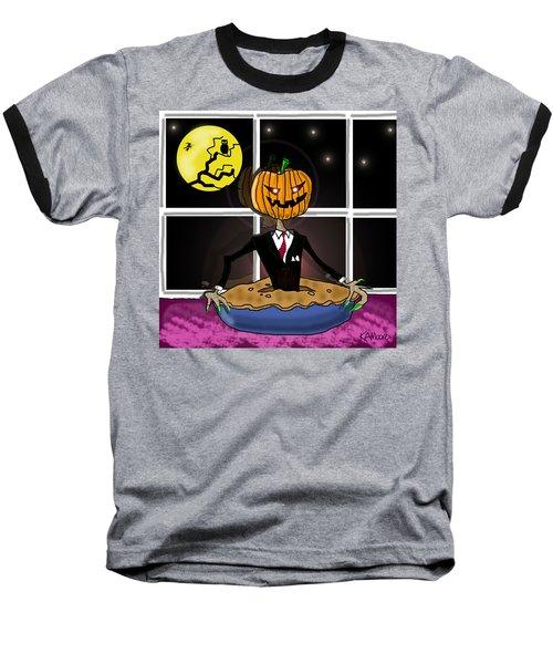 Pumpkin Pie Baseball T-Shirt