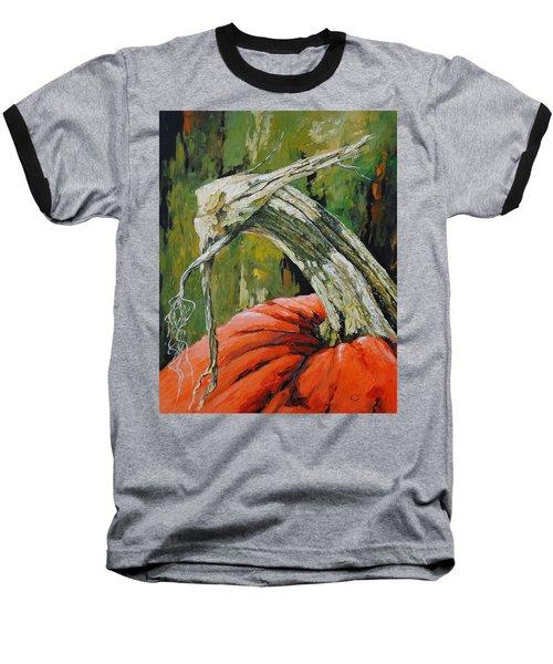 Pumpkin1 Baseball T-Shirt
