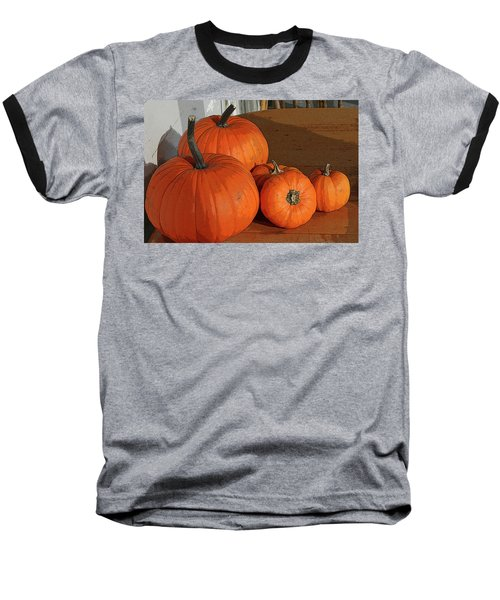 Pumpkins Baseball T-Shirt