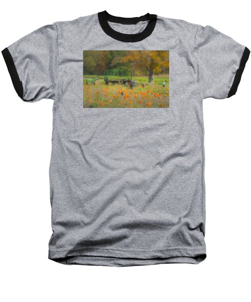 Pumpkins At Langwater Farm Baseball T-Shirt