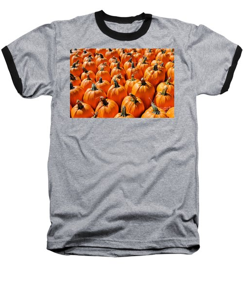 Pumpkins Baseball T-Shirt