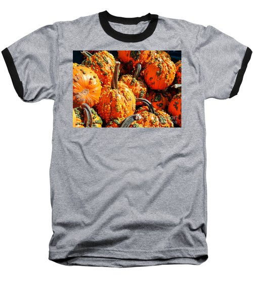 Pumpkins With Warts Baseball T-Shirt