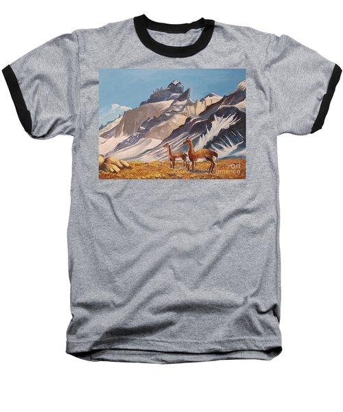 Puna De Atacama Baseball T-Shirt