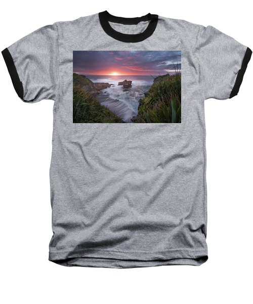 Punakaiki Baseball T-Shirt