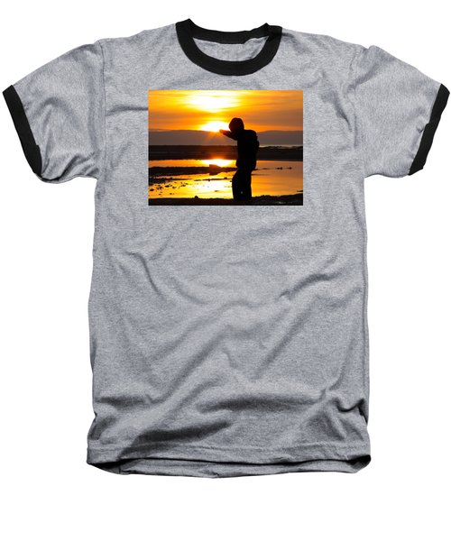Punching The Sun Baseball T-Shirt