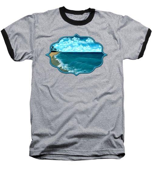 Punta Cana Beach Baseball T-Shirt