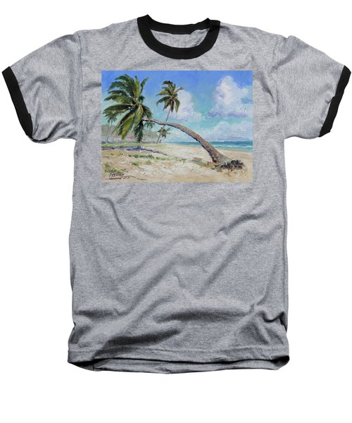 Punta Cana - Sea Beach 13 Baseball T-Shirt