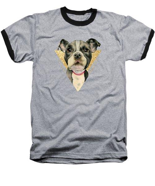 Puppy Eyes 3 Baseball T-Shirt