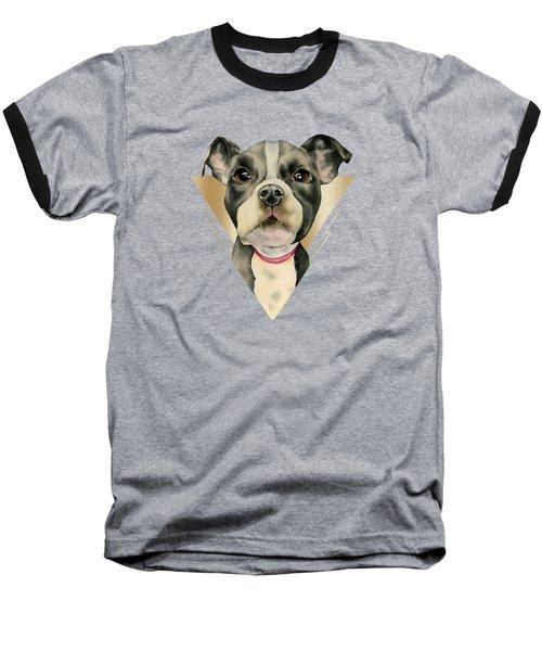 Puppy Eyes 4 Baseball T-Shirt