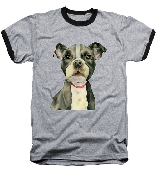 Puppy Eyes Baseball T-Shirt