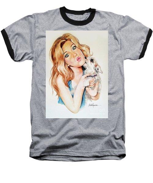 Puppy Baseball T-Shirt