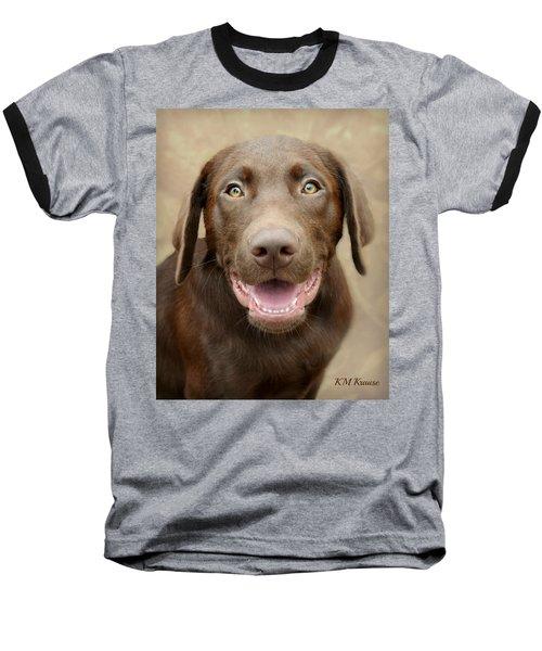 Puppy Power Baseball T-Shirt