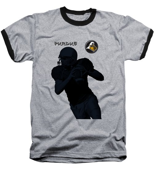 Purdue Football Baseball T-Shirt