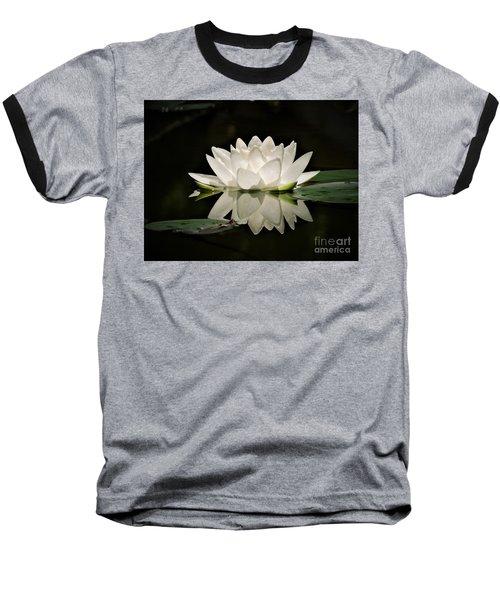 Pure And White Baseball T-Shirt
