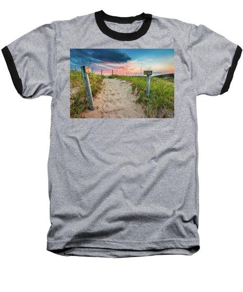 Baseball T-Shirt featuring the photograph Pure Michigan Sunset by Sebastian Musial