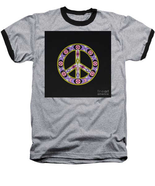 Baseball T-Shirt featuring the painting Pure Peace by Joseph Sonday