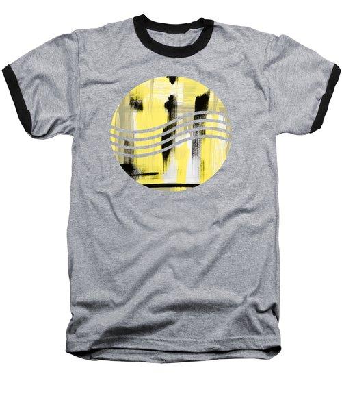 Pure Spirit Abstract Baseball T-Shirt by Christina Rollo