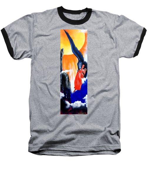 Purgatorio Baseball T-Shirt by Victor Minca