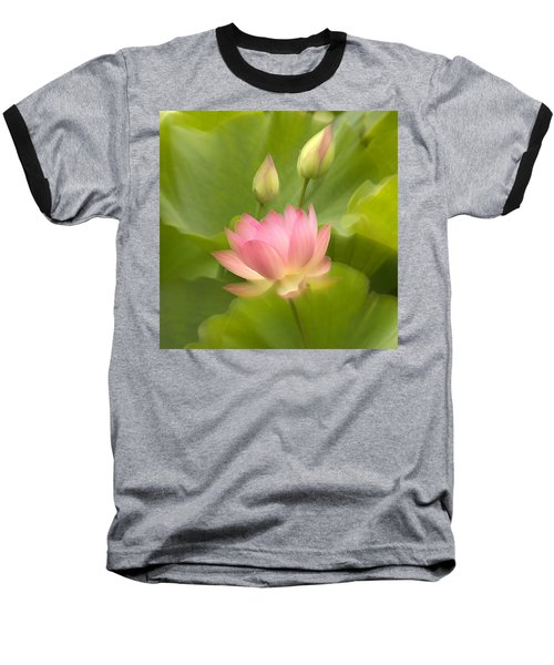 Baseball T-Shirt featuring the photograph Purity Reborn by John Poon