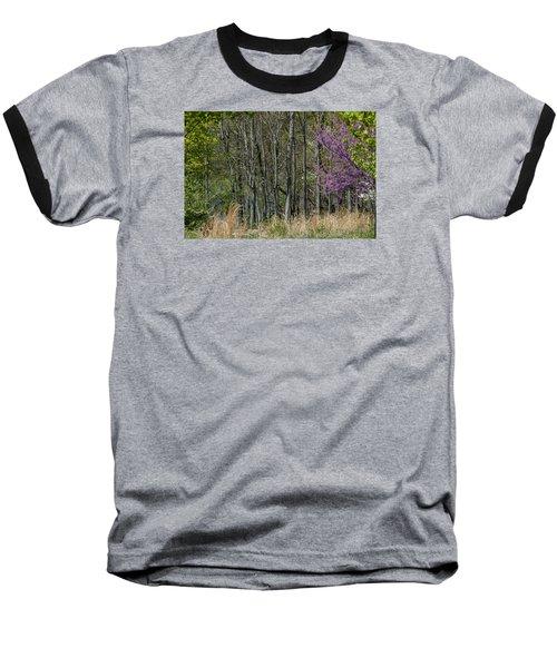 Purple And Green Baseball T-Shirt