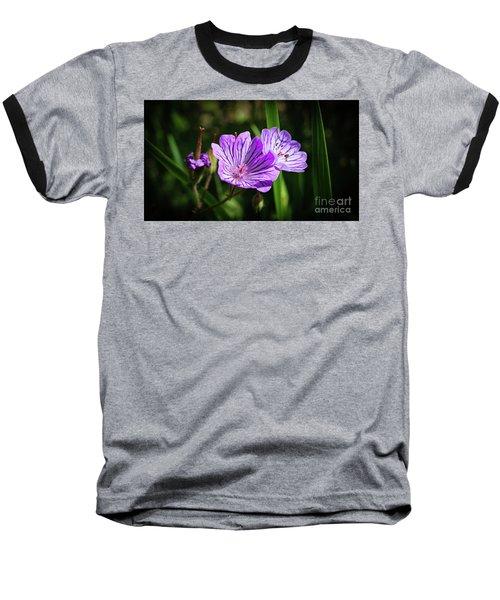 Purple Attraction Baseball T-Shirt