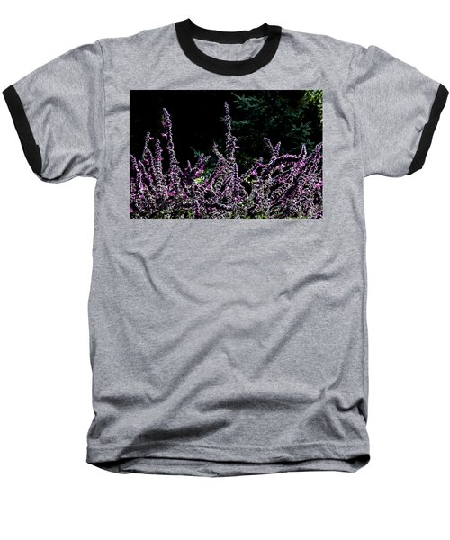 Purple Beauty Baseball T-Shirt