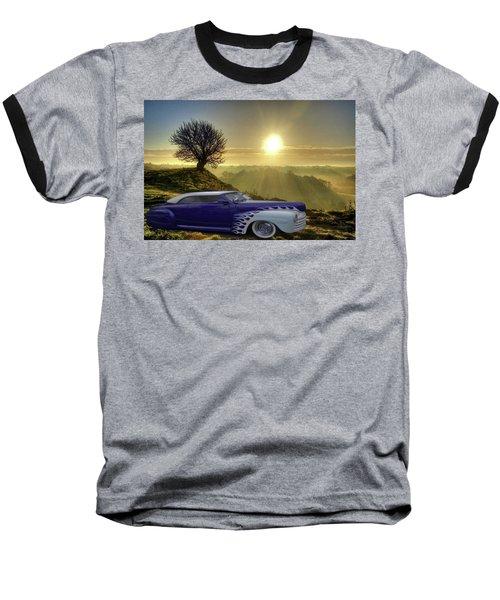 Purple Beauty Baseball T-Shirt by Julie Grace