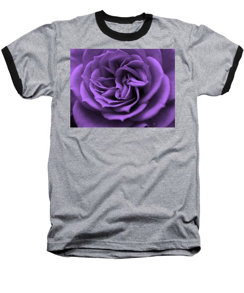 Purple Bliss Baseball T-Shirt