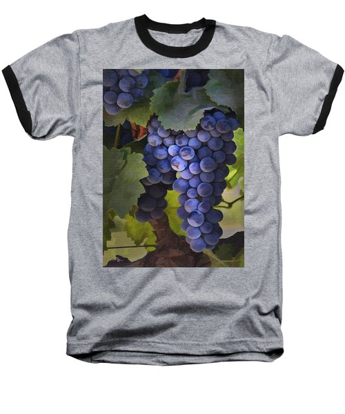 Purple Blush Baseball T-Shirt