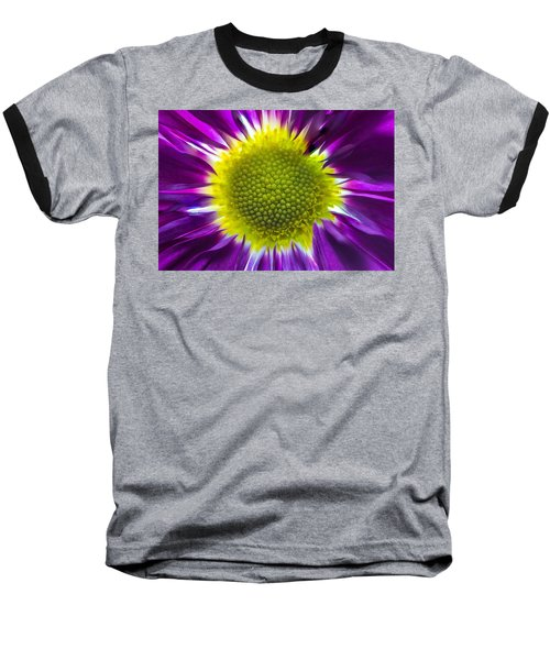 Purple Burst Baseball T-Shirt